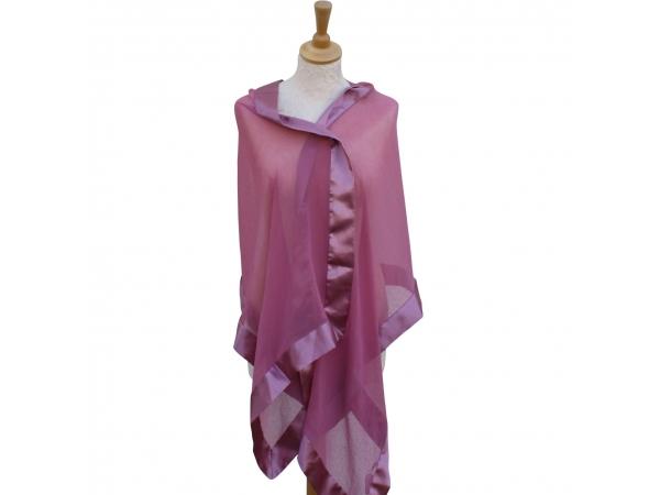 Dusty pink wrap