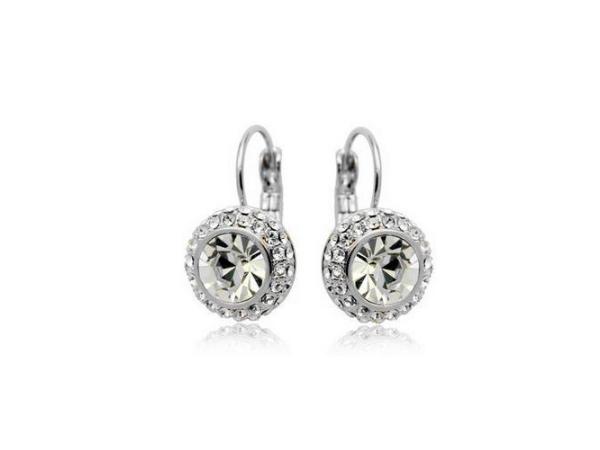 E198c Quality crystal earring