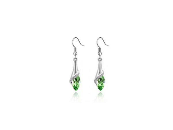 E219gn Crystal drop earring