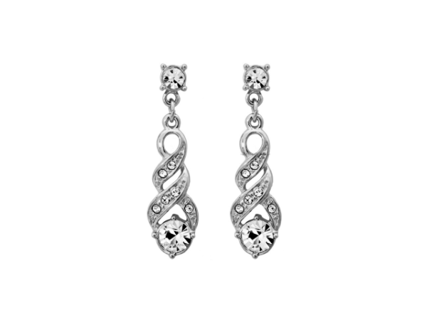 E435s Crystal Drop Earring