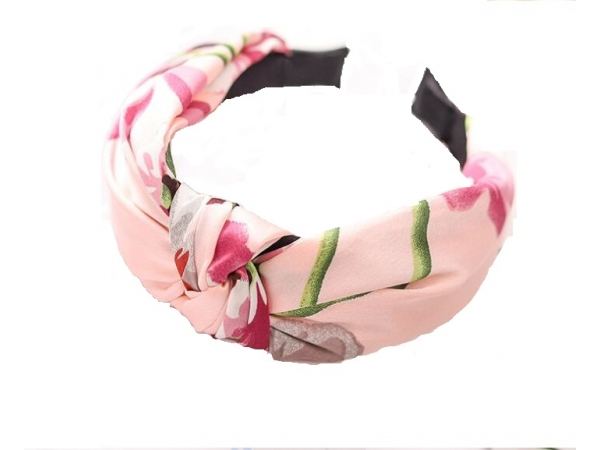 Floral Hair Band Pink