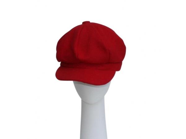 Red Baker Boy Hat.