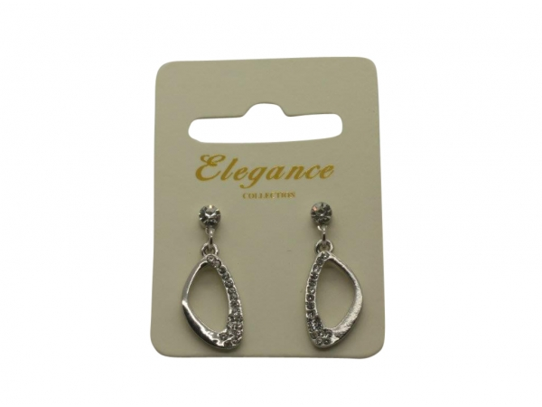 E108s Silver drop earring