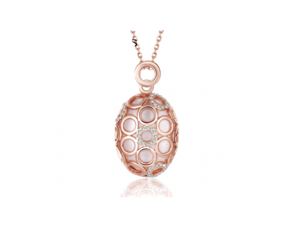 N416 Rose gold pendant