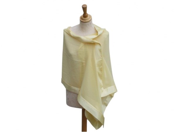 Lemon Silk Wrap