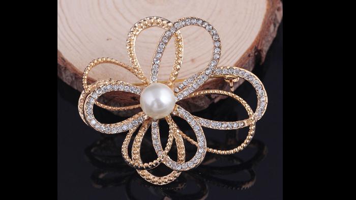 Br119g Crystal & pearl