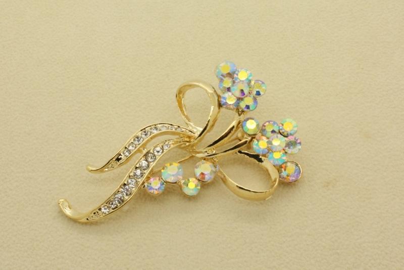 Br78 Flower brooch