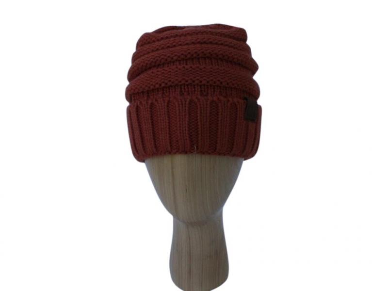 H020 Burnt ribber winter hat.