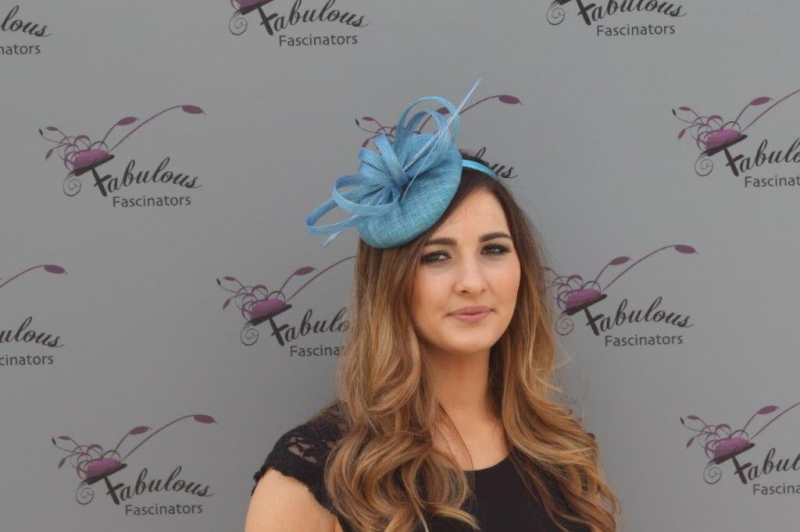 Holly Blue Fascinator