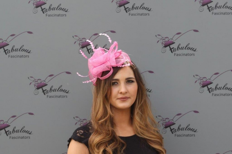 Lucy Pink fascinator