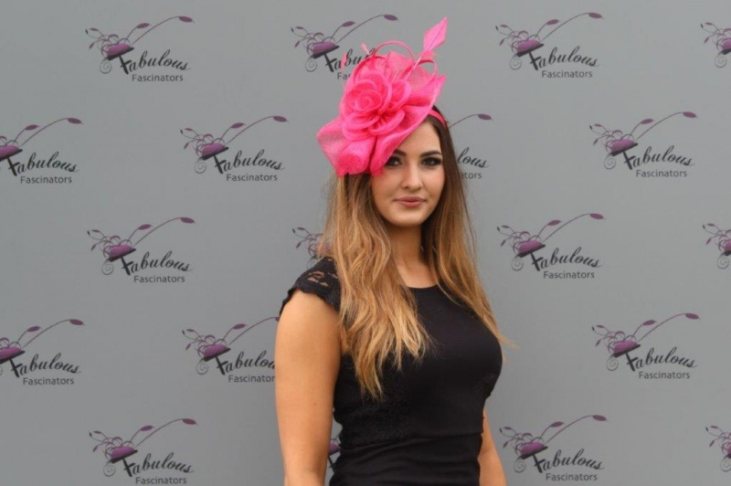 Blossom Cerise Fascinator