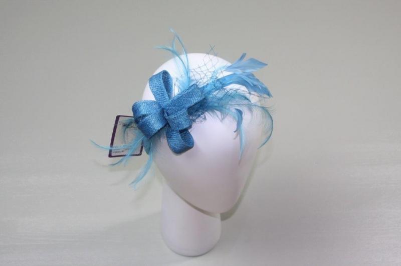 Nina Blue Fascinator