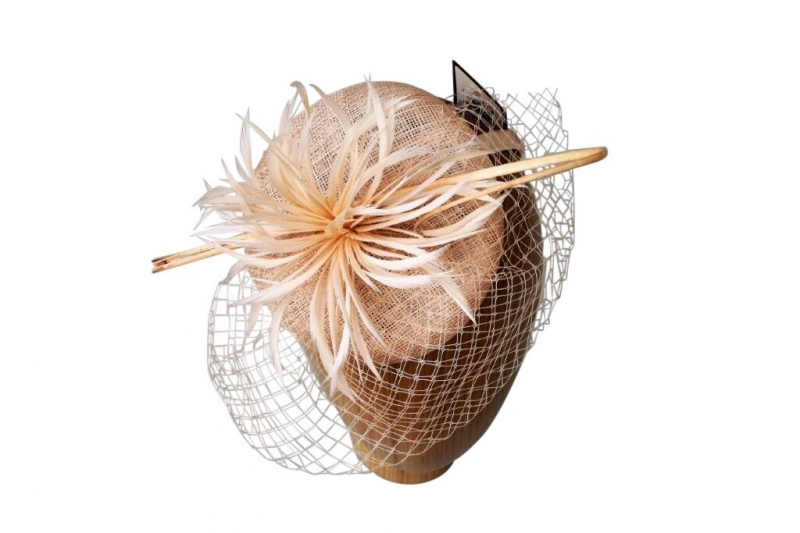 Kelly Blush fascinators
