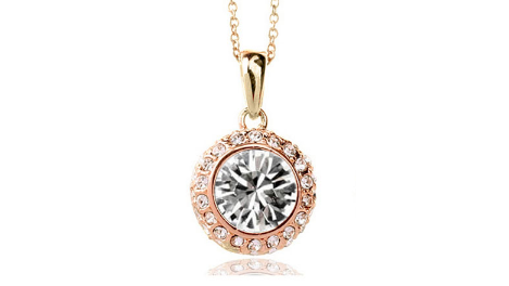 N248gc Clear crystal pendant