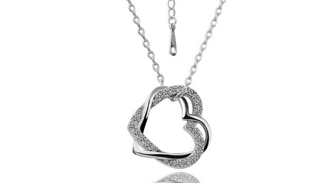 N421s Silver heart pendant