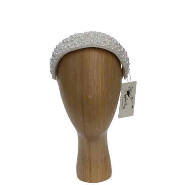 Cream Pearl Hair Band