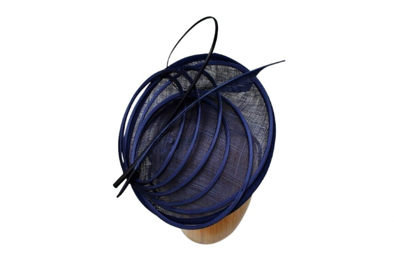 Pia Navy fascinator