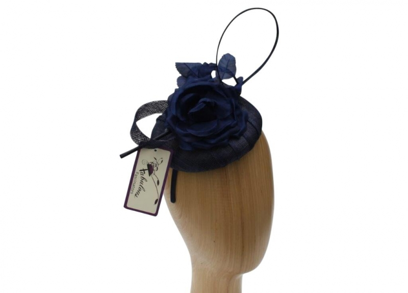 Willow Navy fascinators